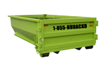 10 CU YD Roll Off Dumpster Container in Mountain Lakes New Jersey | Hudacko Waste Industries