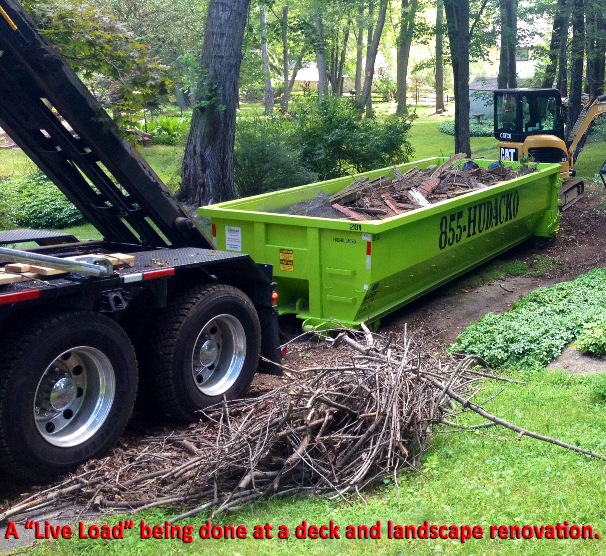 Roll Off Dumpster Container Rental Service In Northern Nj