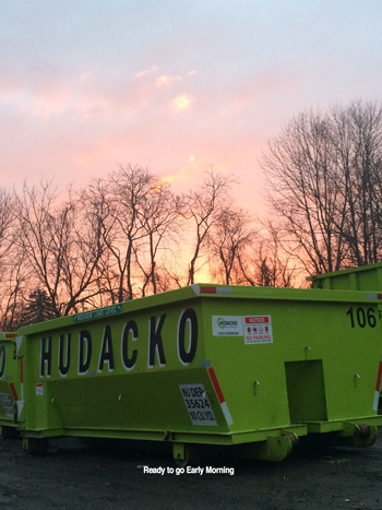 Roll off dumpster rental service - Hudacko Waste Industries