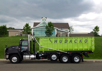 Roll off container rental service - Hudacko Waste Industries
