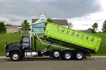 Roll off container dumpster service - Hudacko Waste Industries